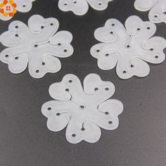 10PCS 6.5cm Useful Flower Shape Balloons Sealing Clip Ballon Buttons Clips Wedding/Birthday/Christmas Party Decoration Supplies //Price: $8.99 & FREE Shipping //     #partysuppliesplate