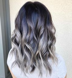 Ash blonde babylights by @hairbykacie1 ! Isn't this look gorgeous? 😍