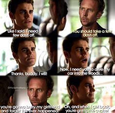 TVD 6x03 what is up with Stefan?!??