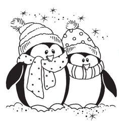 anasınıfı penguen boyaması