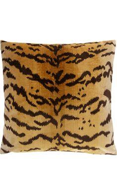 Scalamandré Tigre Pillow