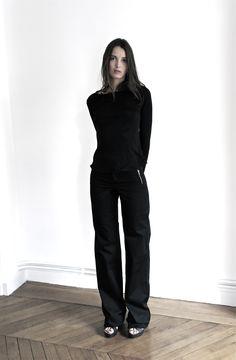 Adélaïde de Grandcourt Paris-Sao Paulo RTW-2015  Black.