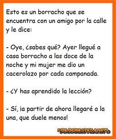 Cacerolada de escarmiento...      #humor #chistes #gracioso #chiste #risa Mexican Humor, Funny Phrases, Spanish Humor, Mexicans, Just Relax, Funny Pictures, Jokes, Lol, Happy