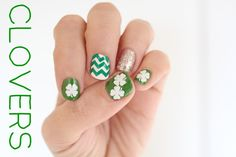 For St. Patrick's Day. Nail Stickers