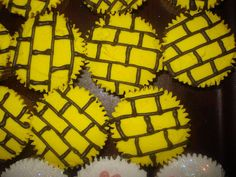 Wizard of Oz Themed Cupcakes