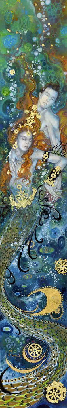 "Saatchi Art Artist: Tom Fleming; Giclée 2006 Printmaking ""Depths of Love"""