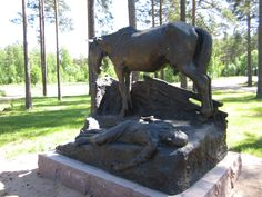See 12 photos from 940 visitors to Harjavalta. Homeland, Finland, Four Square, Tourism, Lion Sculpture, Castle, Statue, Museums, Turismo
