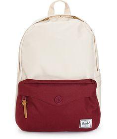 a1445433648 Herschel Supply Co. Sydney Natural   Windsor Wine 12.5L Backpack