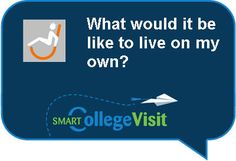 Great thoughts on what to ask and look for in college campus accessibility.