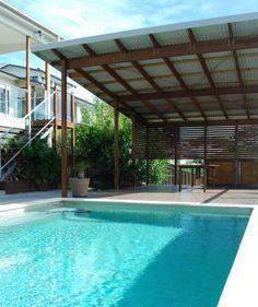 Deking Pty Ltd- Pool Deck, Gold Coast Australia, Corrugated Roof