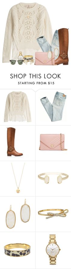 """""""i just want food tbh.."""" by sydneylawsonn ❤ liked on Polyvore featuring Vanessa Bruno, American Eagle Outfitters, Tory Burch, Kate Spade, Kendra Scott and Ray-Ban"""