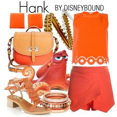 Hank by leslieakay on Polyvore featuring Carven, Lipsy, Dooney & Bourke, Mariah Rovery, Henri Bendel, disney and disneybound