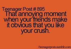 bff, crush, friends, funny, quote - inspiring picture on Favim.com