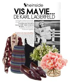"""""""Sheinside II/6"""" by doris-popovic ❤ liked on Polyvore featuring moda, Nearly Natural e The French Bee"""