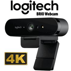 Logitech BRIO delivers Ultra HD video with zoom, and RightLight 3 with . Logitech BRIO delivers Ultra HD at 30 fps or Vector Technology, Dynamic Range, Facial Recognition, Brio, Camera Settings, Loudspeaker, Wireless Speakers, Logitech