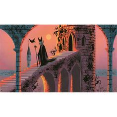 sleeping beauty concept art