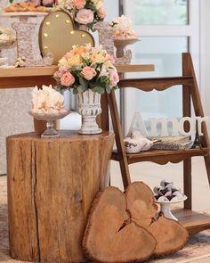 decoração chá, noivado ou mini wedding