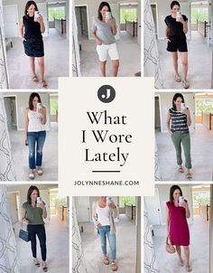 Jo-Lynne Shane shares two weeks of everyday summer outfits for women over 40, along with fashion tips and styling advice for creating effortless summer looks. Everyday Casual Outfits, Casual Summer Outfits, Fall Winter Outfits, What I Wore, What To Wear, Cashmere Hoodie, Night Looks, Denim Outfit, Skinny Pants