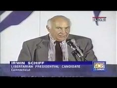 Irwin Schiff (Feb. 23 1928 - Oct. 16 2015) at the Libertarian Convention 1996 - YouTube