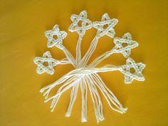 """""""Shiny Tiny Stars"""" #crochet free pattern"""