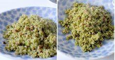 Receta exprés: quinoa con brócoli y jamón