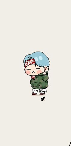 Bts Min Yoongi/Suga fanart Pinterest/QxBoss