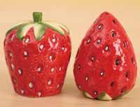 Strawberry Salt and Pepper Shaker