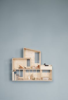 http://www.fermliving.com/webshop/shop/news-kids-aw16.aspx Wooden Dolls, Wooden Dollhouse, Play Houses, Plywood House, Kids House, House Art, Deco Kids, Talking Points, Kid Spaces