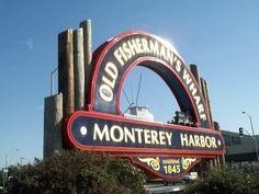 Old Fisherman's Wharf #Monterey #California