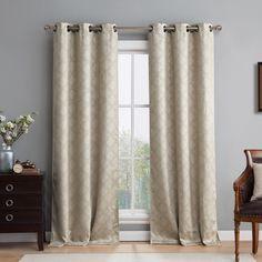 Lattice Blackout Thermal Curtain Panels