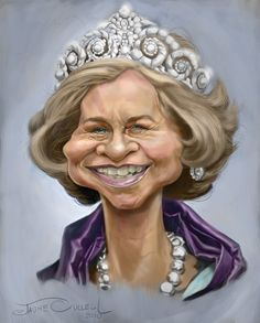 Caricatura de la Reina Sofía. http://www.pinterest.com/egilgasset/sofia/