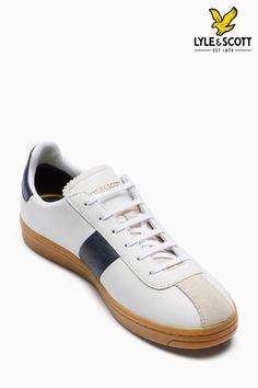 003ebcc5c Buy Lyle   Scott White Campbell Trainer from the Next UK online shop