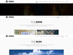 Pirma adobe muse template google fonts font free and template siena adobe muse template wajeb Gallery