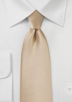 Oatmeal Colored Men\'s Tie
