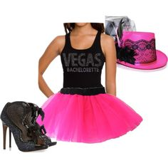 Get wild with this outfit inspired by a Vegas Bachelorette party!