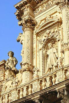 La Basilica of Santa Croce Lecce