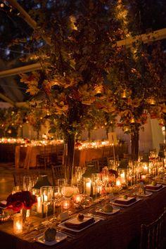 SWANK PRODUCTIONS FALL WEDDING TABLE #FALL #WEDDING