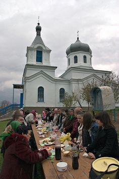 Easter in Moldova