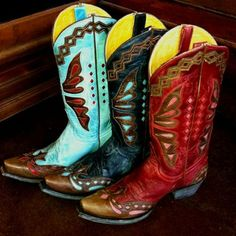 ~ Boot Scootin Boogie - Old Gringo Monarca Cowgirl Boots ~