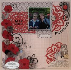 Couture Creations: Friends by Pam Bray | Couture Creations Fantastia Doily Dies