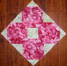 Wildflower Block | FaveQuilts.com