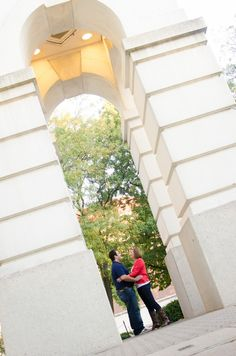 Purdue engagement photo