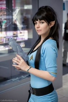 Vulcan (Star Trek) I do believe that Disney should get hooked up with Vulcan. I mean Star Trek. Vulcan Star Trek, Star Trek Rpg, Star Wars, Star Trek Cosplay, Batman Christian Bale, Costume Manga, Film Science Fiction, Star Trek Images, Star Trek Characters