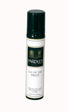 Yardley of London Refreshing Body Spray for Women, Lily of The Valley, 2.6 Ounce $5.00