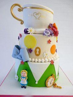 33 Best Alice S In Wonderland Cake Images In 2016 Cake