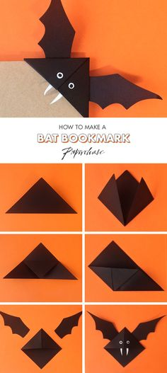 diy bat corner bookmarks corner bookmark looking diy 4226
