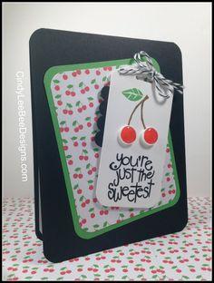 SU Apple of my Eye Cherries on tag black