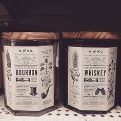 Makers Of Waxed Goods Whiskey And Bourbon Greatest Candles Ever