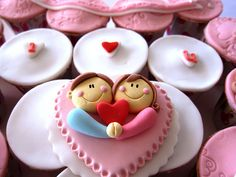 One Sweet Love Letter Cupcakes - An edible love letter is a sweet way to send your affection to all your family and friends this Valentine's Day. Description from pinterest.com. I searched for this on bing.com/images