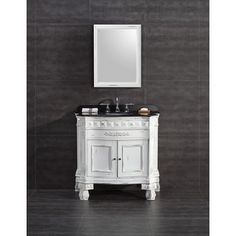 Shop for OVE Decors York 36-inch Single Sink Bathroom Vanity with Granite Top. Get free delivery at Overstock.com - Your Online Furniture Outlet Store! Get 5% in rewards with Club O!
